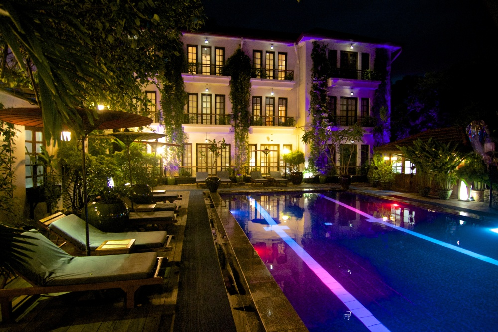 Hotel Savoy, Rangun (Yangon), Burma (Myanmar)
